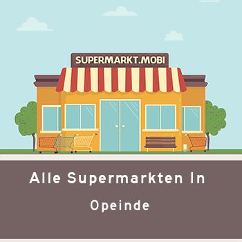 Supermarkt Opeinde