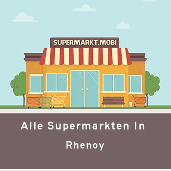Supermarkt Rhenoy