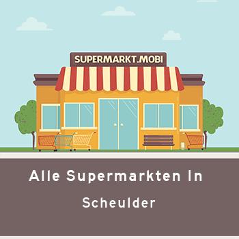 Supermarkt Scheulder