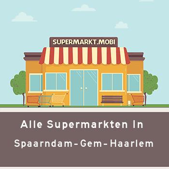 Supermarkt Spaarndam gem. Haarlem