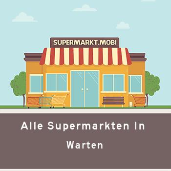 Supermarkt Warten